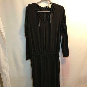 Michael Kors Women's Size L Black Jumpsuit (231)